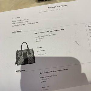 Gucci Bags - Gucci 2019 Small Ophidia GG Supreme Satchel
